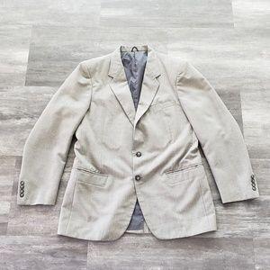 Grey Formal Mens Shop Suit Blazer